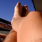 Depilación de piernas en hombres