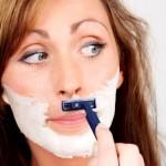 Depilación facial femenina tras la menopausia